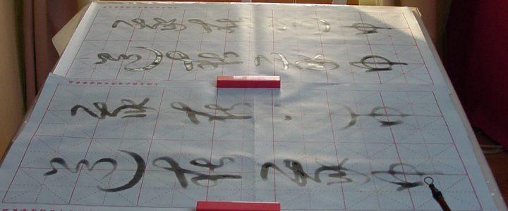Tao Kalligrafie Lichtübertragung – Angebot