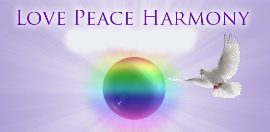 Die Botschaft von Love Peace Harmony
